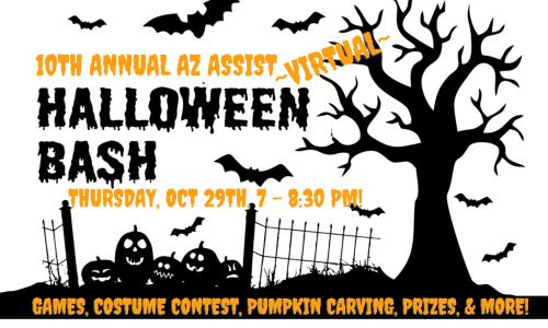 10th Annual AZ ASSIST Halloween Bash Logo