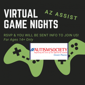 AZ ASSIST VIRTUAL GAME NIGHTS LOGO
