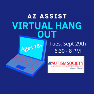 AZ ASSIST Virtual Hang Out September