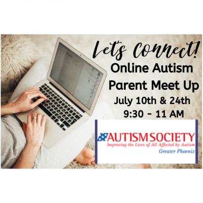 July Online Autism Parent Meet Up